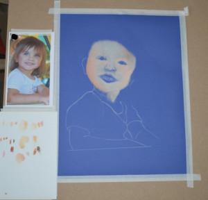 Etude de portrait avec des Patels secs  dans Portrait d'après photo etude-portrait-l--300x288
