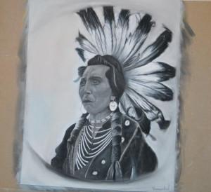 Etude de portrait  dans Portrait d'après photo indien-300x274